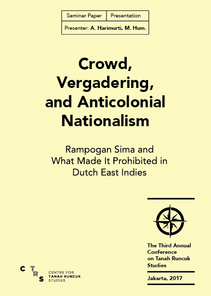 Crowd Vergadering, and Anticolonial Nationalism