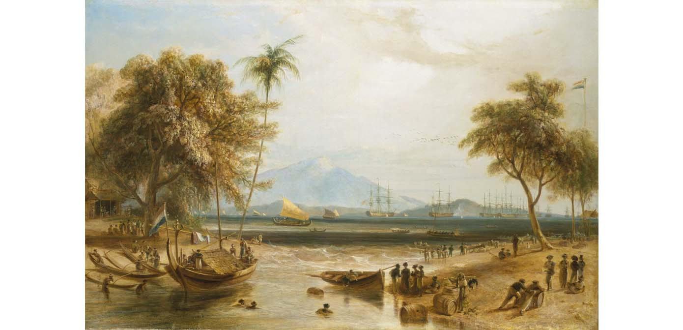 William Daniell painting
